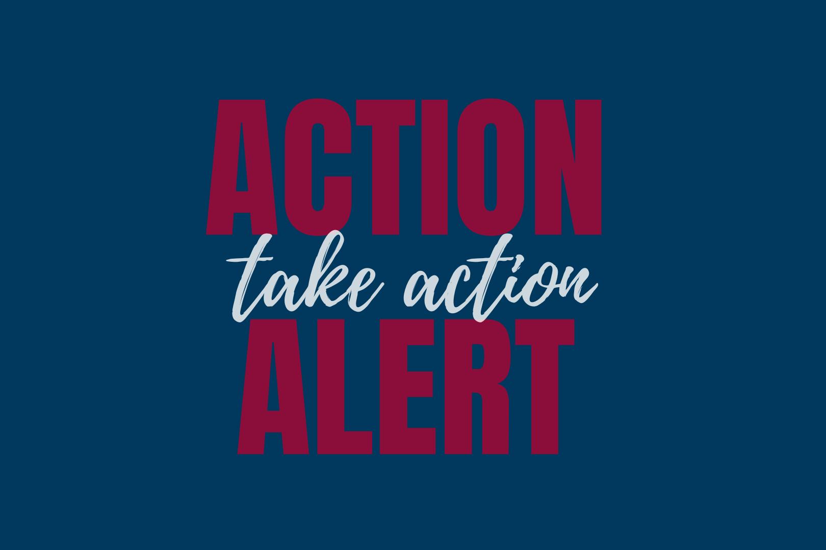 Action Alert Take Action