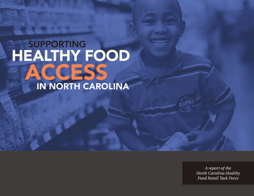 Supporting Health Food Access in North Carolina Cover